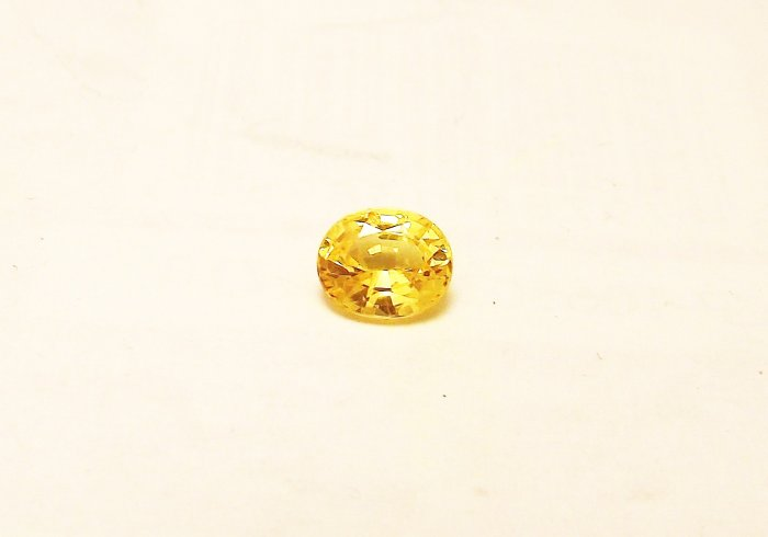Yellow Sapphire 1.15 Ct Natural