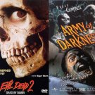 Evil Dead 2 And Army of Darkness Dvds