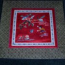Square Tapestry with butterfly & flowers & child  *** FREE SHIPPING ***