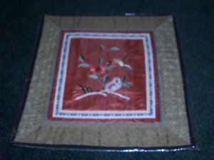 Square Tapestry with  flowers   *** FREE SHIPPING ***