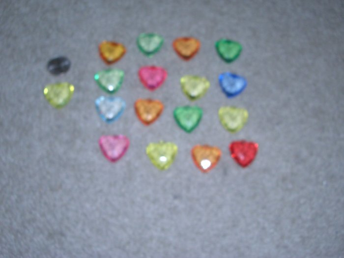 HEART BEAD -  GREAT FOR PENDANT