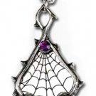 Alchemy Gothic Pewter Destiny Necklace Skulls