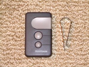 craftsman garage door opener remoteSears Remote 13953879 Garage Door Opener Control 53879 81LM 850CB