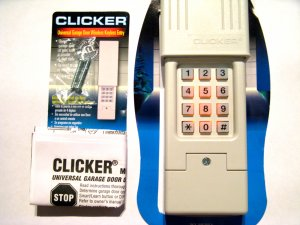 Clicker Garage Door Opener Keypad Universal Remote KLIK2U 387LM Liftmaster Entry