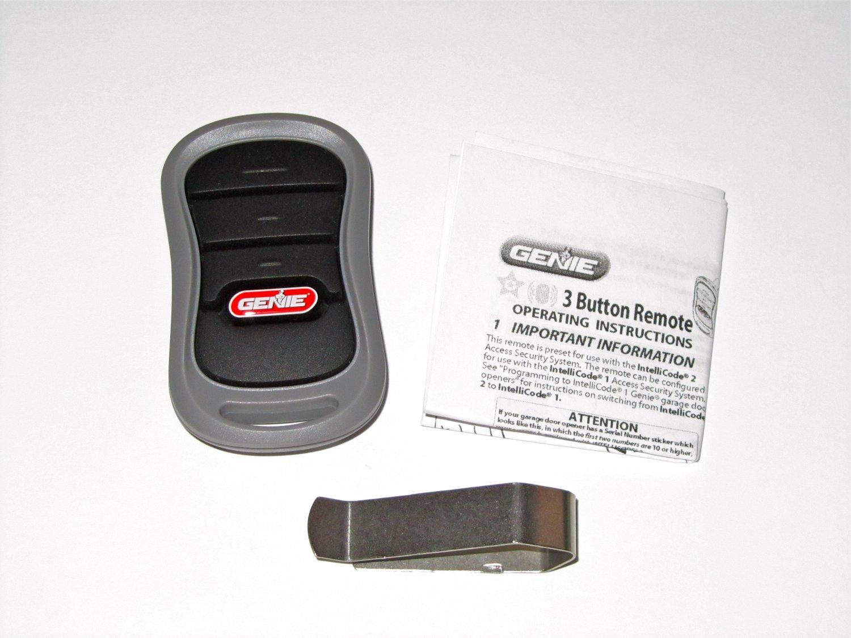 Genie Intellicode G3t Bx Garage Door Remote 37330r G3t R