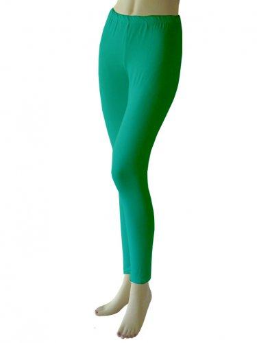 Green Leggings Tights Yoga Pants