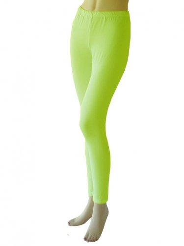 Neon Yellow Leggings Tights Yoga Pants