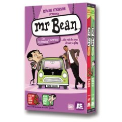 Mr Bean The Animated Series, Vols. 1 & 2 - BRAND NEW DVD BOX SET FACTORY SEALED