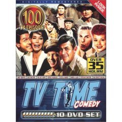 TV Time Comedy 100 Episodes 10 DVD Box Set NEW AND FACTORY SEALED