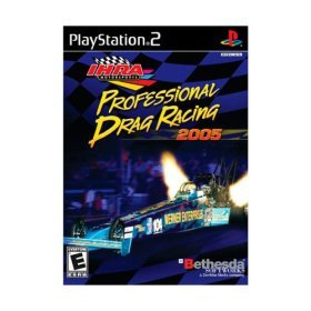 IHRA Professional Drag Racing 2005 - Playstaion 2  - NEW FACTORY SEALED