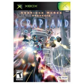 Scrapland - XBOX - NEW FACTORY SEALED