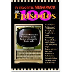 TV Favorites Megapack 100 Episodes NEW DVD BOX SET