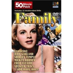Family Classics 50 Movie Pack NEW DVD BOX SET