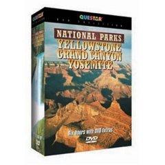 National Parks Yellowstone Grand Canyon Yosemite NEW DVD BOX SET