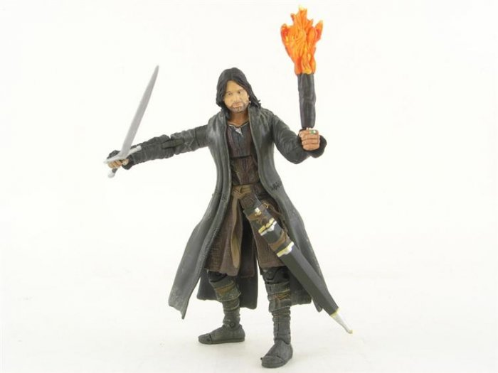 Lord of the Rings Aragorn Action Figure NEW AND SEALED