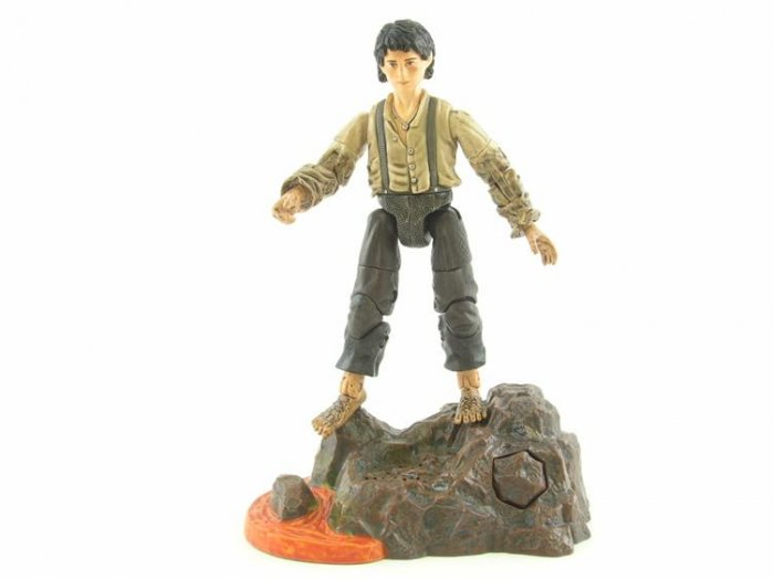 Lord of the Rings Mount Doom Frodo Action Figure NEW AND SEALED