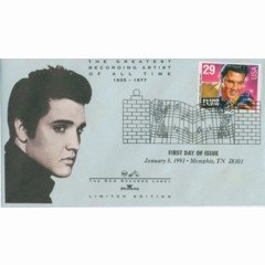 Elvis Presley Limited Edition Mounted Stamp