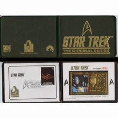 Star Trek Commemorative 30 Year Limited Edition Stamps
