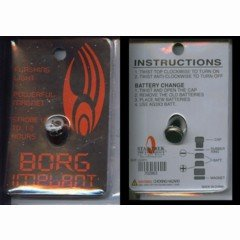 Star Trek Borg Implant NEW AND SEALED