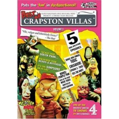 Best of Crapston Villas NEW DVD FACTORY SEALED