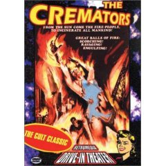 The Cremators NEW DVD FACTORY SEALED