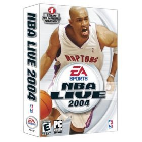 NBA Live 2004 - CD ROM - NEW FACTORY SEALED