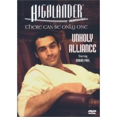 Highlander Unholy Alliance - NEW DVD FACTORY SEALED