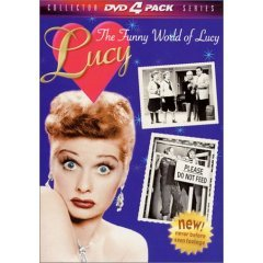 Funny World of Lucy Volumes 1 & 2 - NEW DVD FACTORY SEALED