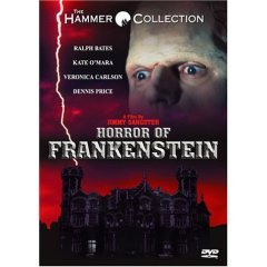 Horror of Frankenstein - NEW DVD FACTORY SEALED