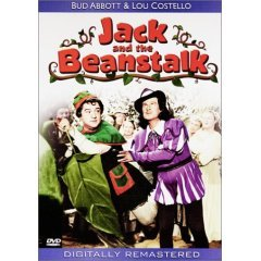 Jack and the Beanstalk - Abbott & Costello - NEW DVD FACTORY SEALED