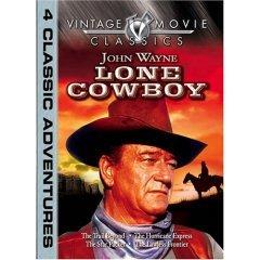 John Wayne Lone Cowboy Four Movies - NEW DVD FACTORY SEALED