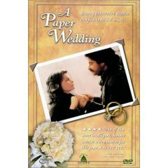 A Paper Wedding - NEW DVD FACTORY SEALED