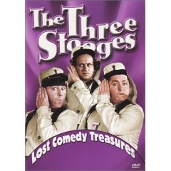 The Three Stooges Lost Comedy Treasures - NEW DVD FACTORY SEALED