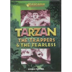 Tarzan The Trappers & The Fearless (New DVD)