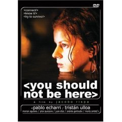 You Should Not Be Here - NEW DVD FACTORY SEALED