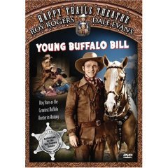 Young Buffalo Bill - Roy Rogers - NEW DVD FACTORY SEALED