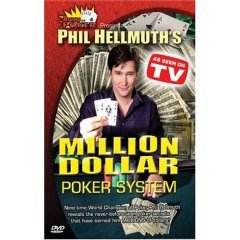 Phil Hellmuth's Million Dollar Poker System - NEW DVD FACTORY SEALED