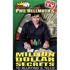 Phil Hellmuth's Secrets To Bluffing & Tells - NEW DVD FACTORY SEALED