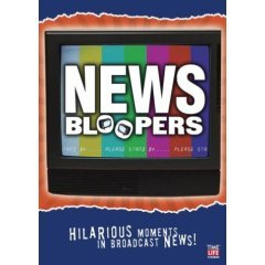 News Bloopers - NEW DVD FACTORY SEALED