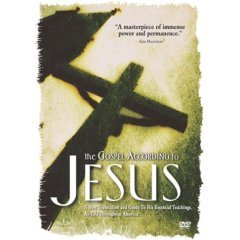 The Gospel According to Jesus - NEW DVD FACTORY SEALED