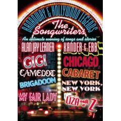 Broadway & Hollywood Legends - The Songwriters - Kander & Ebb and Alan Jay Lerner - NEW DVD
