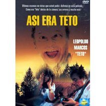 Asi Era Teto - Spanish Version - NEW DVD FACTORY SEALED