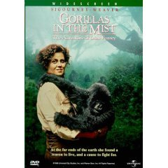 Gorillas in the Mist - NEW DVD FACTORY SEALED