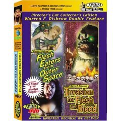 Flesh Eaters from Outer Space - Invasion for Flesh and Blood - NEW DVD