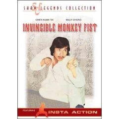 Invincible Monkey Fist - NEW DVD FACTORY SEALED