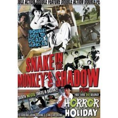 Snake in the Monkey's Shadow - Horror Holiday - NEW DVD FACTORY SEALED