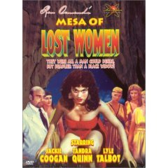 Mesa of Lost Women - NEW DVD FACTORY SEALED