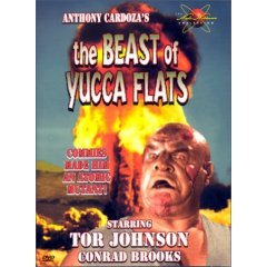 The Beast of Yucca Flats - NEW DVD FACTORY SEALED