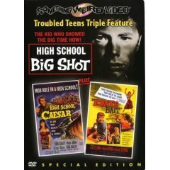 High School Big Shot - High School Caesar - Date Bait - NEW DVD FACTORY SEALED