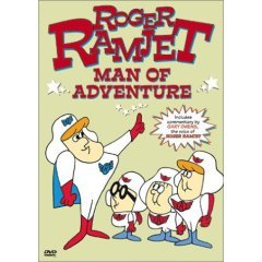 Roger Ramjet Man of Adventure - NEW DVD FACTORY SEALED